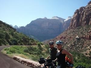 Matt & I in Zion