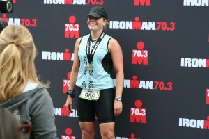 Boise 70.3 finish in 2008