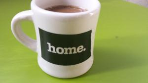 Home coffee cup