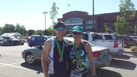 Fueling up post Boise 70.3 at Wholefoods