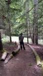 Laughing Creek hike 1