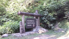 Olympic National Park - Staircase Campground entrance