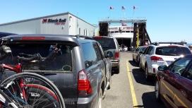Coho ferry to B.C.