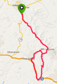 65 miles, 6,000 elevation gain