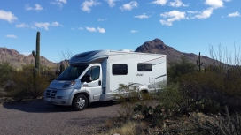 Gilbert Ray Campground spot